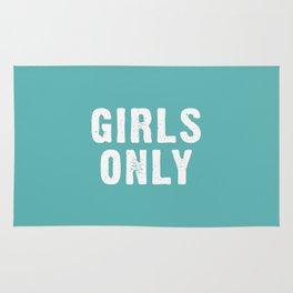 Girls Only - Teal Aqua Rug