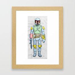 My Favorite Toy - Boba Fett Framed Art Print
