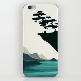 beauty trumped vertigo iPhone Skin