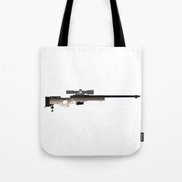 Sniper Rifle Tote Bag