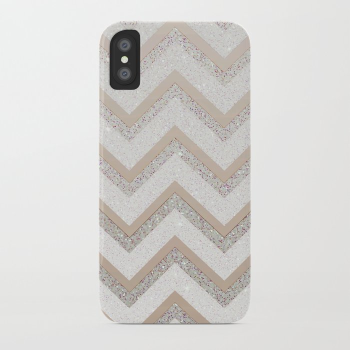 NUDE CHEVRON iPhone Case