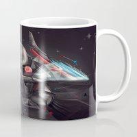 infinite Mugs featuring Infinite by The Neuronaut