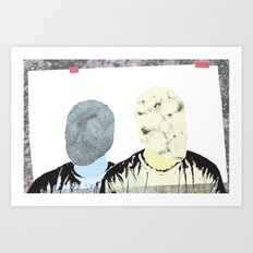 Two of Me Art Print