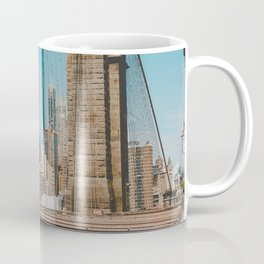 The Bridge in New York City (Color) Coffee Mug