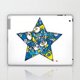 BLUE STAR Laptop & iPad Skin