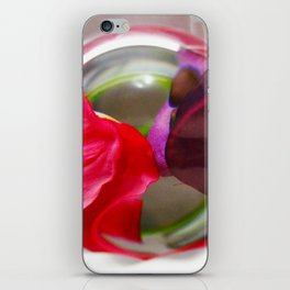Red and Purple Art Photography Unique Picture Visual Effect iPhone Skin