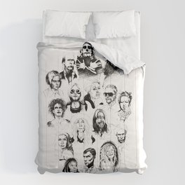 Music Faces Comforters