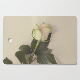 Dusky pink rose Cutting Board