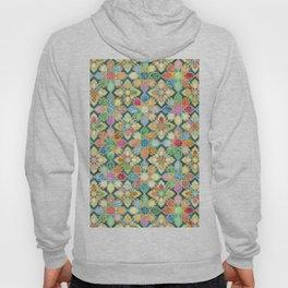 Gilded Moroccan Mosaic Tiles Hoody