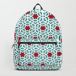 stars pattern Backpack
