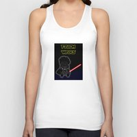 darth Tank Tops featuring Darth by Afro Pig