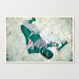 Bodies in Space: Micrometeoroids Canvas Print