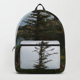 Moody Evening  At Sylvan Lake Backpack