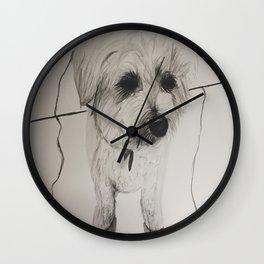 My Dog Mulligan Wall Clock