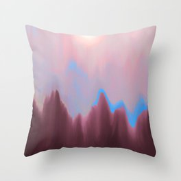 Mountain Heart Throw Pillow