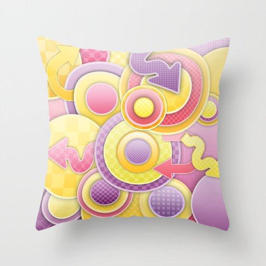 Jumbo Mumbo Throw Pillow