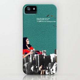 High Rise View iPhone Case