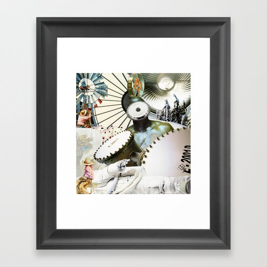 Keep Frozen Framed Art Print