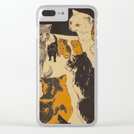 Pussy-cat town - Marion Ames Taggart and Rebecca Chase - 1906 Clear iPhone Case
