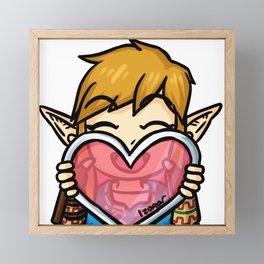 Link Love Framed Mini Art Print
