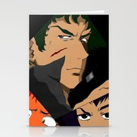 bebop Stationery Cards featuring Cowboy Bebop Shuffle by Oda Oda