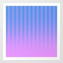 Gradient Stripes Pattern bp Art Print