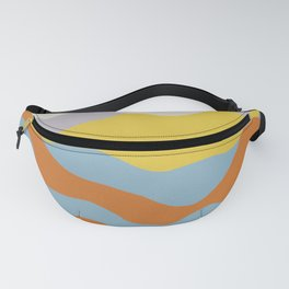 Over The Sunset Mountains Fanny Pack