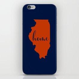 Illinois is Home - Go Bears! iPhone Skin