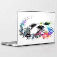 shih tzu Laptop & iPad Skins featuring Shih TZU  by PhotosbySN