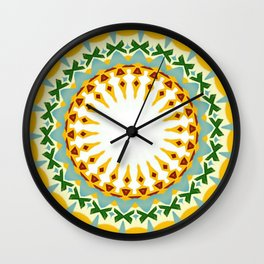 Eyecatching Sunlighter Mandala 1 Wall Clock