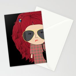 Mss Sunglasses Stationery Cards