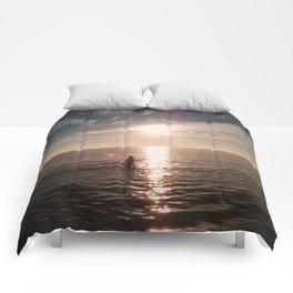 Sunset Swim Comforters