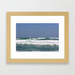 Sea & Sky Framed Art Print