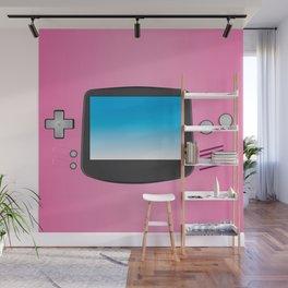 Pink Nintendo Gameboy advance Wall Mural