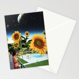 Celestial Sunflowers Stationery Cards