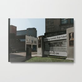 Hume-Fogg Academic High School Metal Print