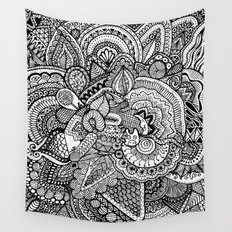 Doodle 17 Wall Tapestry