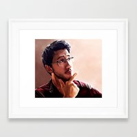 markiplier Framed Art Prints featuring Markiplier by JazzySatinDoll