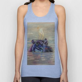 Hippo Ride Unisex Tank Top