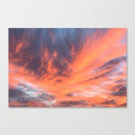 Phoenix Reborn Canvas Print