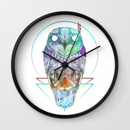 Spirit of the Owl Wall Clock