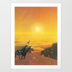 The Wild West Guide To The Galaxy #223 Art Print