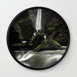 Elowah Falls Wall Clock