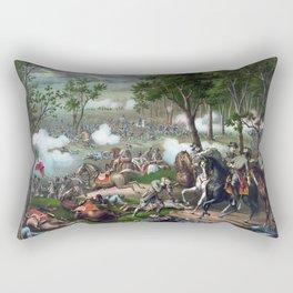Battle of Chancellorsville - Death Of Stonewall Rectangular Pillow