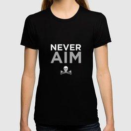 NEVER AIM T-shirt