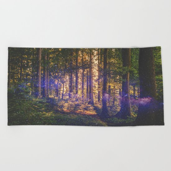 Forest of Dreams Beach Towel