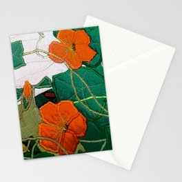 Old nasturtium Stationery Cards