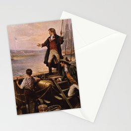 Francis Scott Key - Star Spangled Banner Painting Stationery Cards