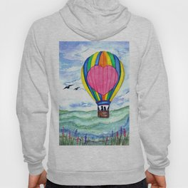 Leave this world with me (Birds) Hoody