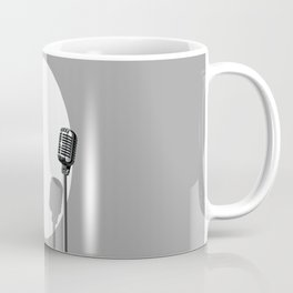 Musical Event Microphone Poster Coffee Mug